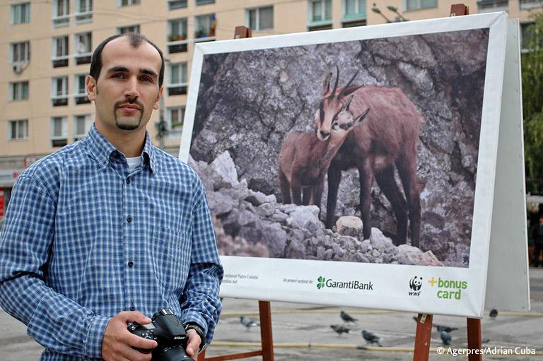 """Dan Dinu, expozitie de fotografie la Iasi, """"Romania salbatica"""""""