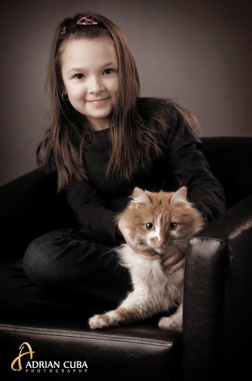 sedinta foto pets, pisici si catei, in studio