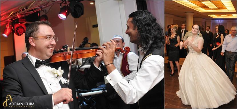 fotografie nunta Iasi, petrecere la restaurantul Bellaria, taraful Cleante