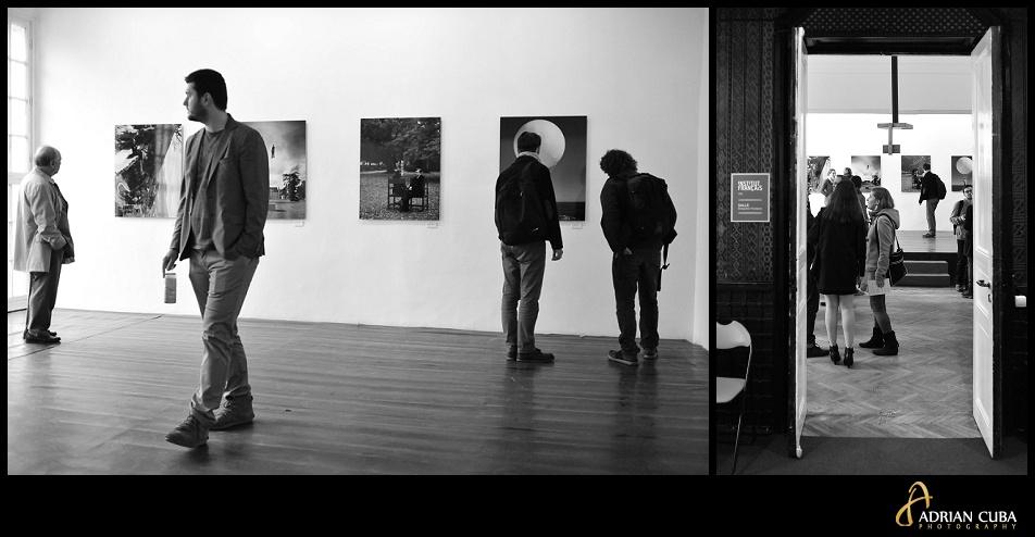 """Expozitia """"Cu susu-n jos"""" de Philippe Ramette, la Institutul Francez Iasi, fotografie de Adrian Cuba"""