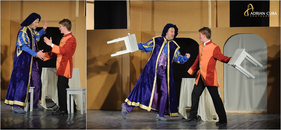 fotografie de teatru realizata de fotograful Adrian Cuba pentru spectacolul Hangita, la Ateneul Tatarasi iasi