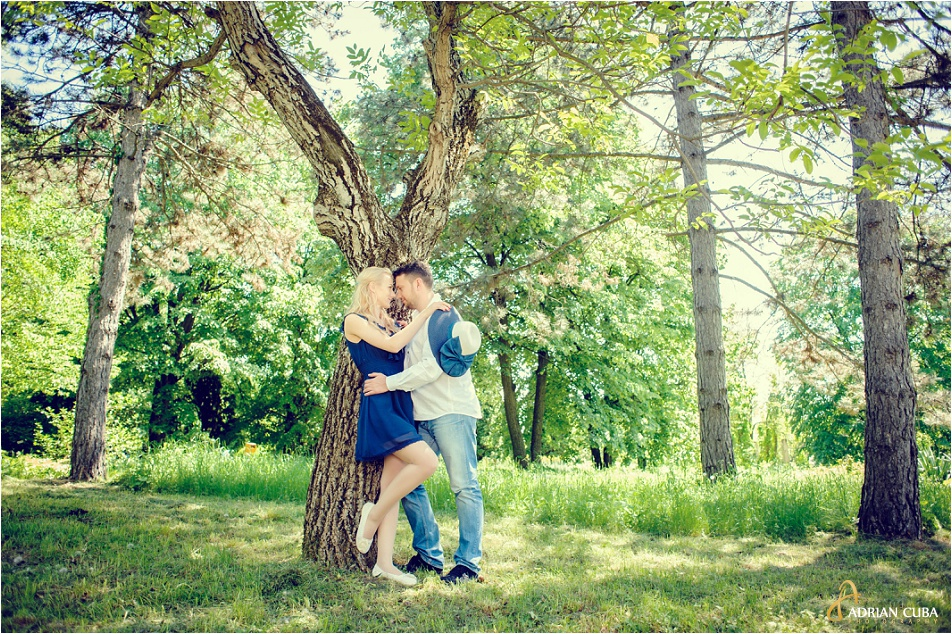 Sesiune foto logodna in natura