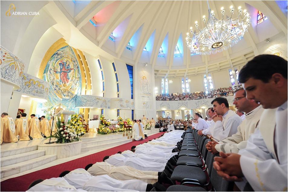 Hirotonirea a 29 preoti, Catedrala catolica Iasi, 2014