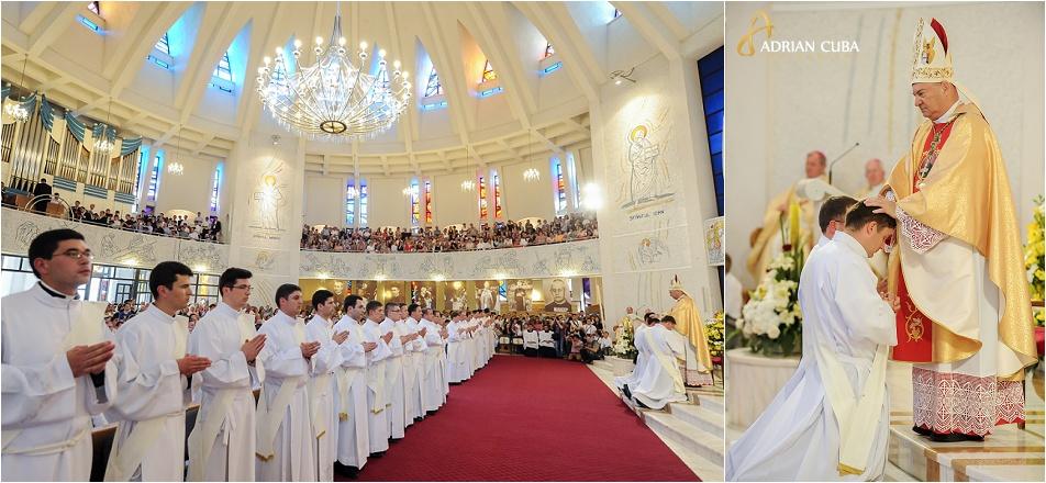 29 diaconi au fost hirotoniti ca preoti de catre episcopul Petru Gherghel, Iasi 2014