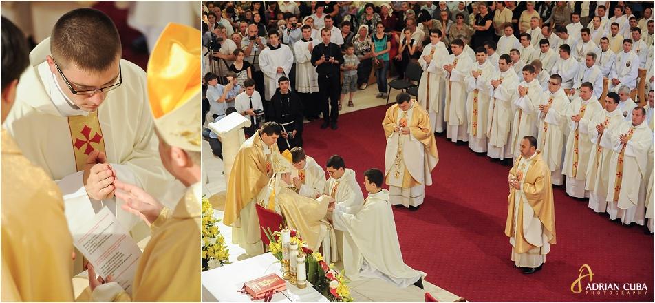 Catedrala catolica Iasi, slujba de hirotonire 2014