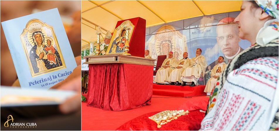Pelerinaj la Cacica, liturghia hramului, prezidata de PS Petru Gherghel