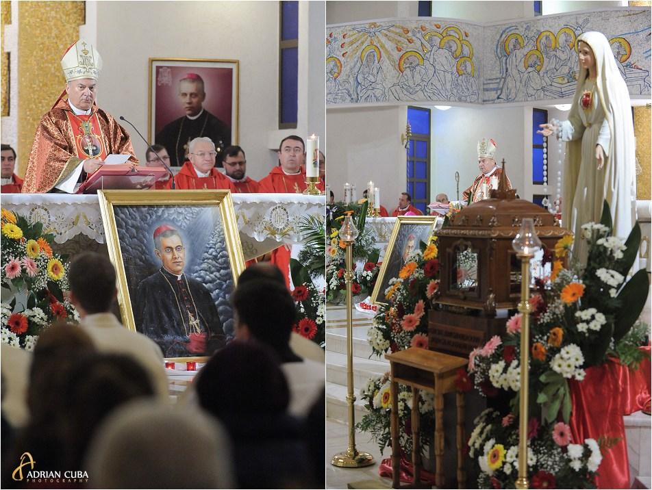 PS Petru Gherghel participa la prima celebrare a Fericitului Anton Durcovici.