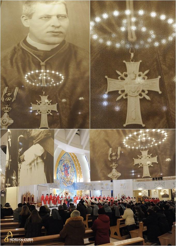 Fericitul Anton Durcovici este celebrat pentru prima data in catedrala catolica din iasi.