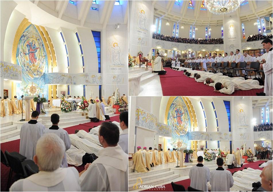 Liturghia de sfintire diaconi, Catedrala catolica din Iasi, 8 decembrie 2014
