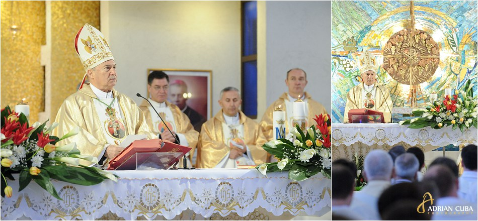 PS Petru Gherghel predica in Joia Mare.