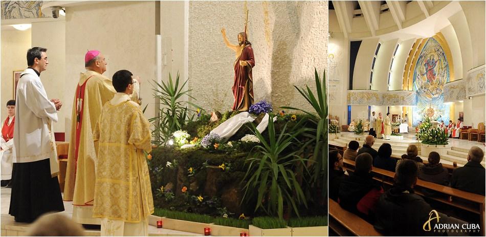 PS Petru Gherghel la Liturghia Invierii, Pastele catolic 2015