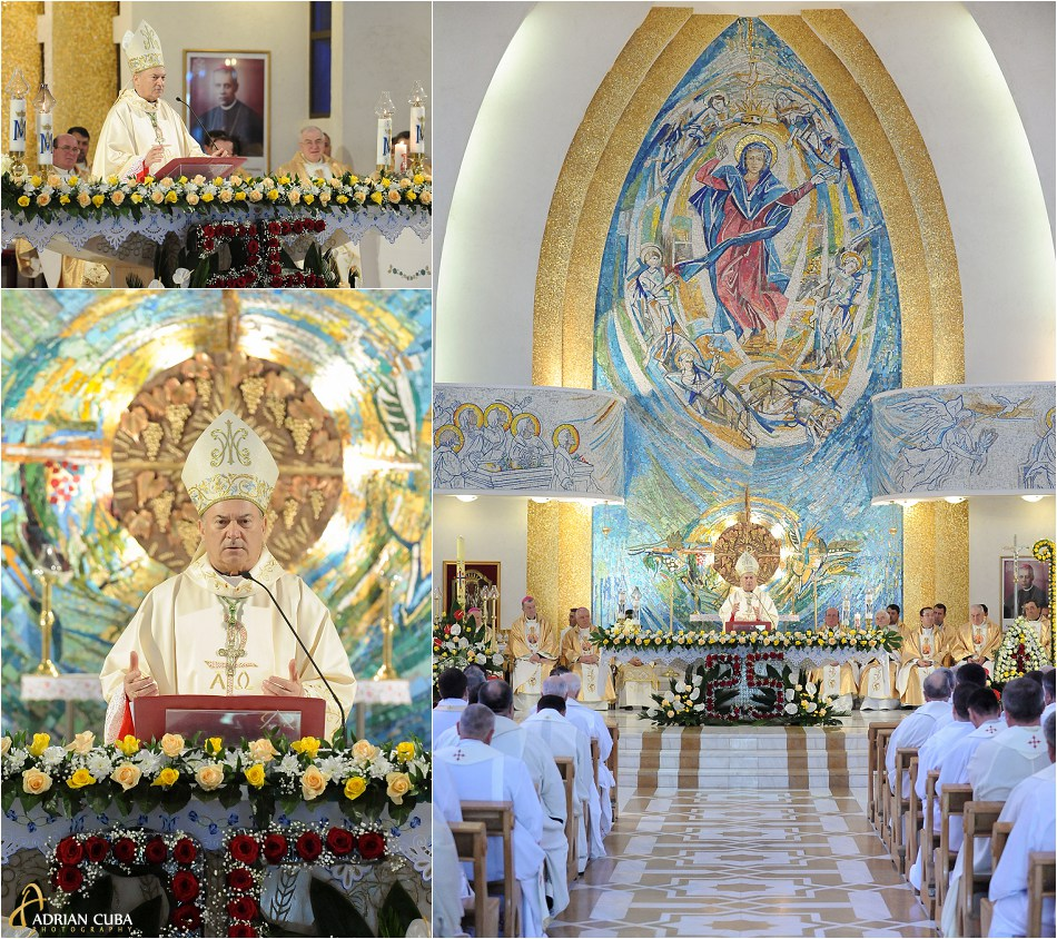 "PS Petru Gherghel la 25 ani de episcopat in catedrala ""Sfanta Fecioara Maria, Regina"" din Iasi."