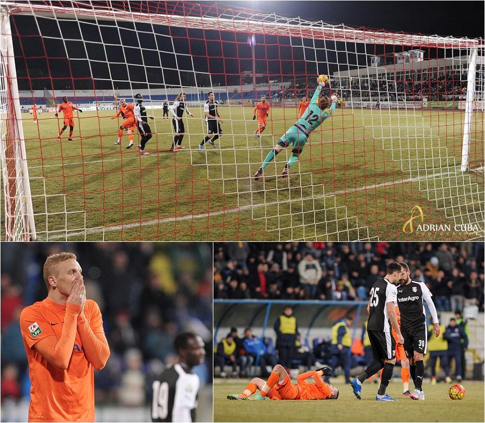 Echipa FC Botosani a fost invinsa pe teren propriu cu scorul de 0-1 de catre liderul Ligii 1 Orange, Astra Giurgiu