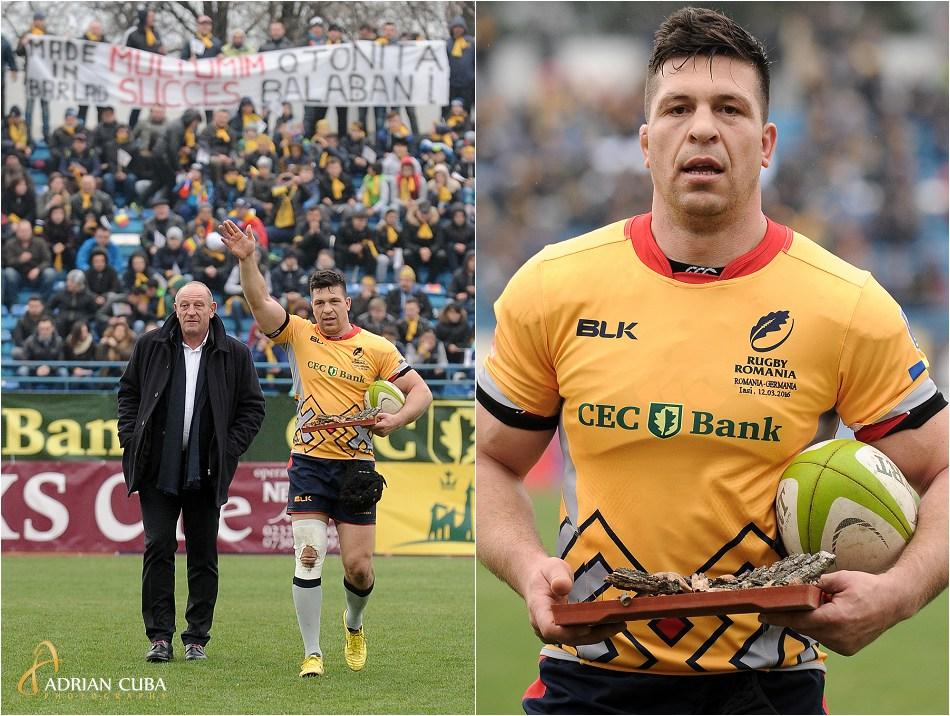 Ovidiu Tonita se retrage oficial de la echipa nationala de rugby.
