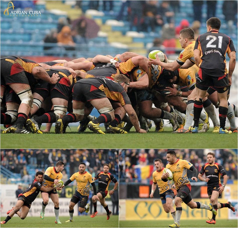 Romania a invins Germania cu scorul de 61-7 intr-un meci de rugby disputat la Iasi.
